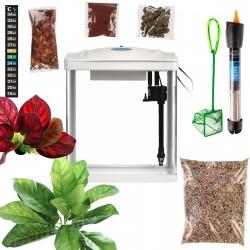 SunSun YB-02 - Zestaw akwarium zielone 4,5l