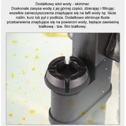 U.S.Aqua Water Tube Blue - wężyk do wody 6mm